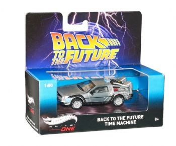 Back To The Future Delorean Time Machine Diecast Model Hotwheels Elite One